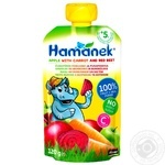 Hamanek Pear with Carrot and Beetroot Puree 120g - buy, prices for Furshet - image 1