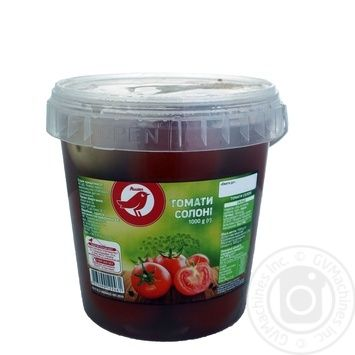 Auchan tomatoes salty 1000g - buy, prices for Auchan - photo 1
