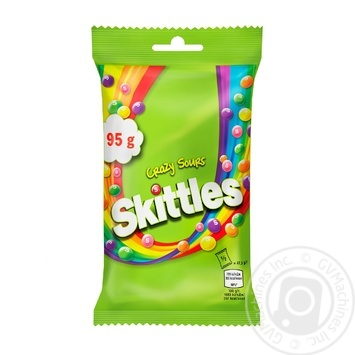 Skittles Crazy Sours Dragee 95g - buy, prices for MegaMarket - image 1