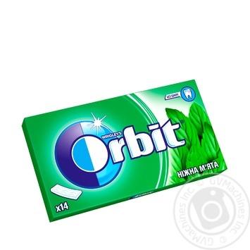 Резинка жевательная Orbit Нежная мята 27г