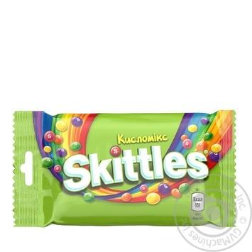Драже Skittles Кисломікс 38г - купити, ціни на МегаМаркет - фото 1