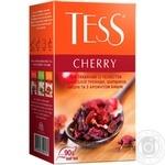 Чай трав'яний Tess Cherry 90г - купити, ціни на Ашан - фото 1