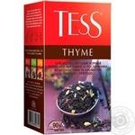 Чай черный Tess Thyme 90г