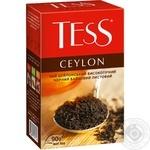 Чай Tess Ceylon чорний 90г x6