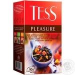 Чай черный Tess Pleasure 90г - купить, цены на Метро - фото 1