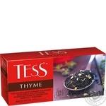 Чай черный Tess Thyme с ароматом лимона и тимьяна 25шт*1,5г