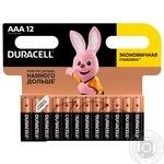 Батарейки Duracell AAA 12