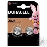 Батарейки Duracell CR2025 2шт
