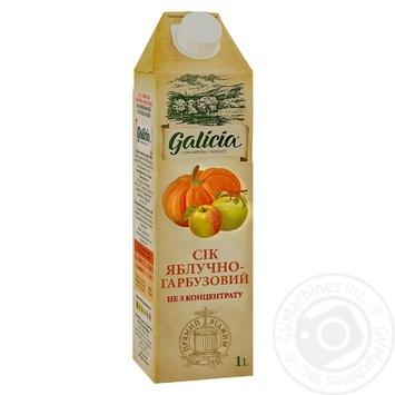 Сок Galicia яблочно-тыквенный с мякотью 1л - купить, цены на Novus - фото 1