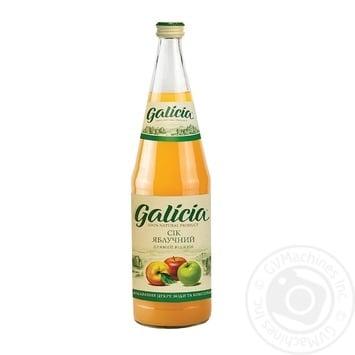 Сок Galicia яблочный 1л стекло - купить, цены на Метро - фото 1