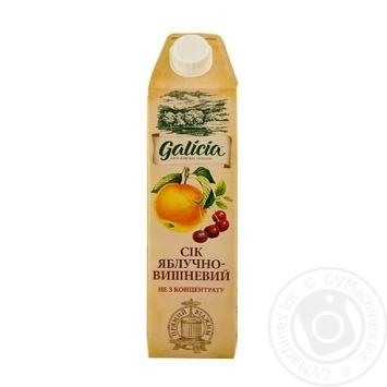 Сок Galicia яблочно-вишневый 1л - купить, цены на МегаМаркет - фото 1