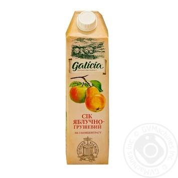 Сок Galicia яблочно-грушевый 1л - купить, цены на Метро - фото 1