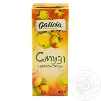 Смузі Galicia Яблуко-персик 0,2л - купити, ціни на Ашан - фото 5