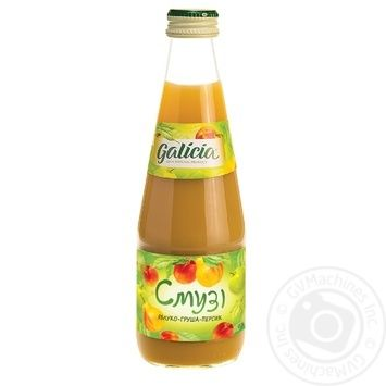 Galicia Smoothie apple-pear-peach juice 0,3l - buy, prices for Auchan - image 6