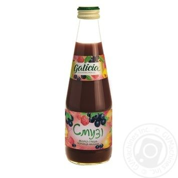 Galicia Smoothie Juice With Apple-Pear-Blueberry-Raspberry 0.3L - buy, prices for Auchan - image 1