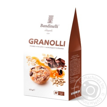 Palazzo Bandinelli Granolli With Chocolate and cereals Biscuits 125g - buy, prices for Novus - image 1