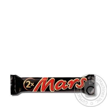 Батончик Mars з нугою та карамеллю 70г - купити, ціни на Novus - фото 1