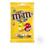 M&M's Dragee Сovered With Colored Crispy Glaze With Peanuts And Milk Chocolate 125g - buy, prices for MegaMarket - image 1
