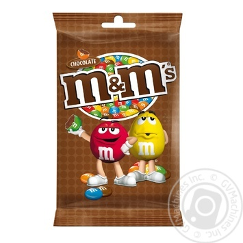M&M'S With Milk Chocolate Drageein in crispy colored glaze 125гg - buy, prices for MegaMarket - image 1