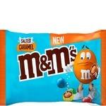 Драже M&M's Salted Caramel с соленой карамелью в молочном шоколаде и разноцветной глазури 36г - купить, цены на МегаМаркет - фото 1