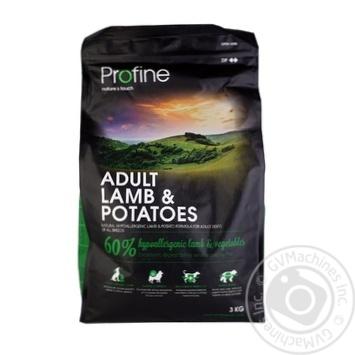 Корм Profine сухой гипоаллергенный с ягненком и картофелем для собак 3кг