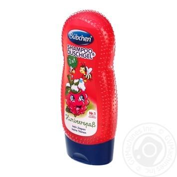 Шампунь детский Bubchen Ведмедикова малина для мытья волос и тела 230мл - купить, цены на Таврия В - фото 4