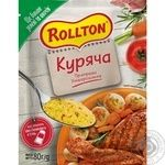 Rollton for chicken spices 80g - buy, prices for Auchan - image 1