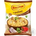 Rollton With Mushrooms Instant Noodles 60g