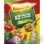 Приправа Роллтон универсальная 12 овощей и трав в гранулах 60г