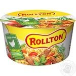 Rolton Egg noodles with homemade chicken 75g