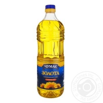 Chumak Zolota Refined Sunflower Oil 2l - buy, prices for MegaMarket - image 1