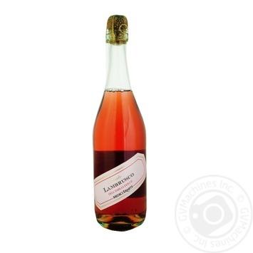 Вино игристое Medici Lambrusco dell'Emilia Rosato Dolce рожеве сладкое 8% 0.75л
