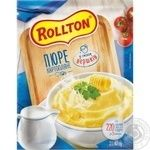 Rollton ready-to-cook with cream filling potato puree 40g - buy, prices for MegaMarket - image 1