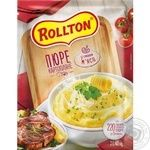 Rollton ready-to-cook with meat filling potato puree 40g