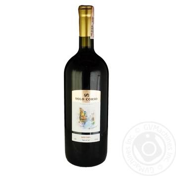 Solo Corso wine red dry 11% 1,5l - buy, prices for CityMarket - photo 1