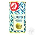 Auchan Green Olives with аnchovy 350g