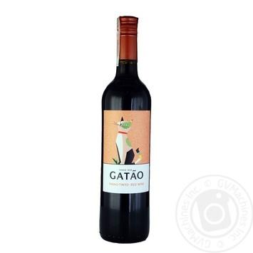 Gatao Vinho Verde DOC Red Semi-dry Wine 12% 0,75l - buy, prices for CityMarket - photo 2