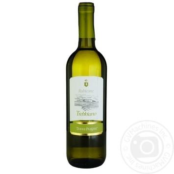 Вино Terre Passeri Trebbiano белое сухое 11% 0,75л - купить, цены на СитиМаркет - фото 1