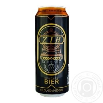ZIH beer dark filtered 4,5% 0,5l - buy, prices for MegaMarket - image 1