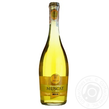 Вино Deus Muscat Patras Cavino біле 0.75л - купити, ціни на Ашан - фото 1