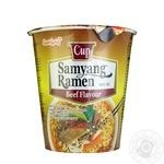 Samyang Ramen Noodles with Beef Flavor Instant 65g