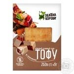 Сир соєвий Зелена корова Тофу копчений 250г