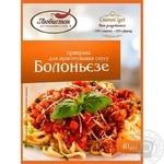 Lyubistok Seasoning for bolognese sauce 40g