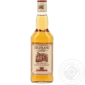 Виски Highland chief 40% 0,5л