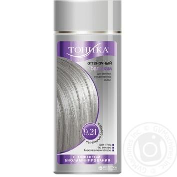 Бальзам для волосся Тоніка 9.1 відтінковий Платиновий блондин 150мл