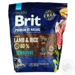 Brit Premium Sensitive feed dry with sensitive digestion with taste of lamb for dogs 1kg