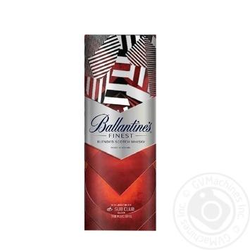 Віскі Ballantine's Finest 40% 0,7л - купити, ціни на МегаМаркет - фото 3