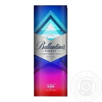 Віскі Ballantine's Finest 40% 0,7л - купити, ціни на МегаМаркет - фото 4