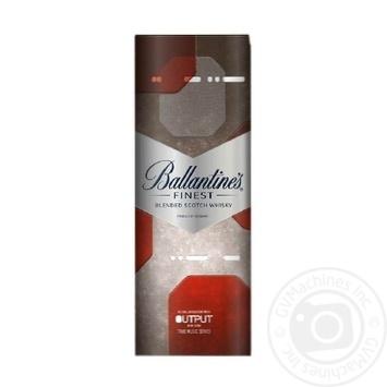 Віскі Ballantine's Finest 40% 0,7л - купити, ціни на МегаМаркет - фото 2