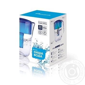 Фильтр-кувшин Наша Вода Максима синий 5л - купить, цены на МегаМаркет - фото 2